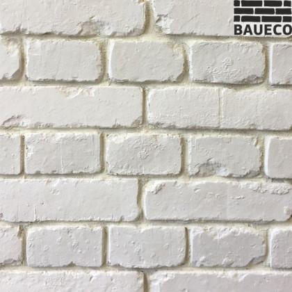 Декоративный кирпич белый - Bianko