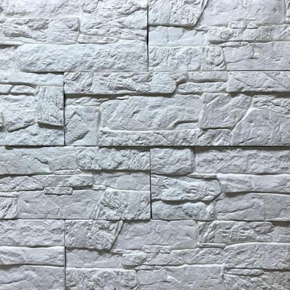 Декоративный камень Морской утес - Белый 10