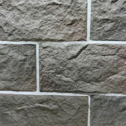 Декоративный камень Русский замок макси - светло Серый 14