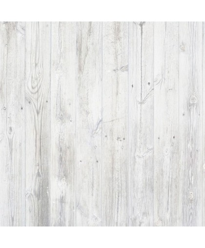 Брашированная доска в  белом цвете с легким эффектом старения