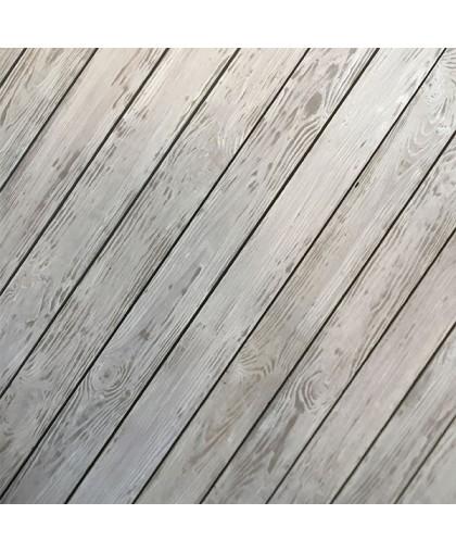 Брашированная доска цвет светло - серый