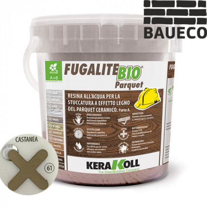 Эпоксидная затирка Kerakoll Fugalite Bio Parquet Castanea 61