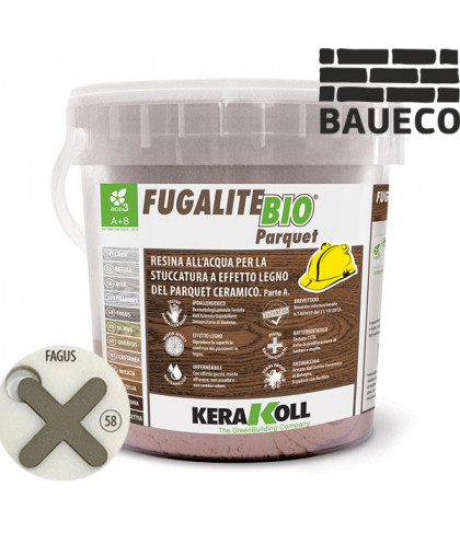 Эпоксидная затирка Kerakoll Fugalite Bio Parquet Fagus 58