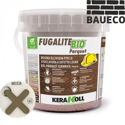 Эпоксидная затирка Kerakoll Fugalite Bio Parquet Milicia 62