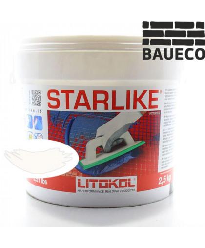 Эпоксидная затирка Litokol Starlike С.270 Bianco Ghiaccio