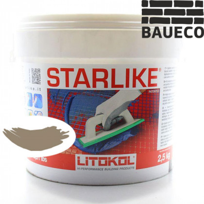 Эпоксидная затирка Litokol Starlike С.280 Grigio Fango