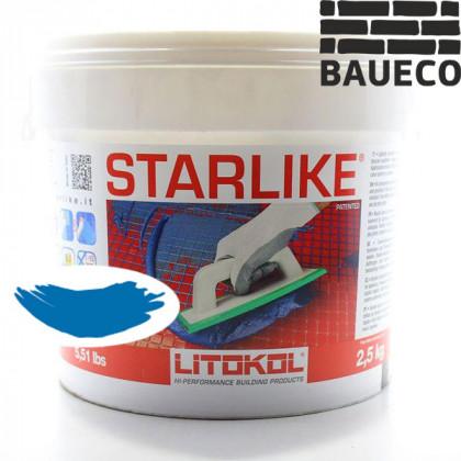 Эпоксидная затирка Litokol Starlike С.390 Artic Blu Светло - голубой
