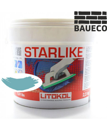 Эпоксидная затирка Litokol Starlike С.400 Turchese