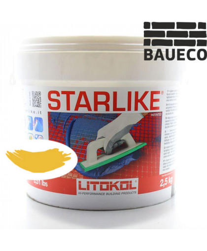 Эпоксидная затирка Litokol Starlike С.430 Limone