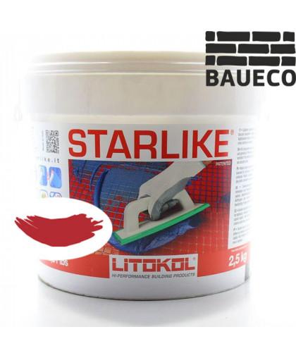 Эпоксидная затирка Litokol Starlike С.450 Rosso Oriente