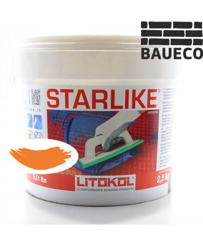 Эпоксидная затирка Litokol Starlike С.460 Arancio