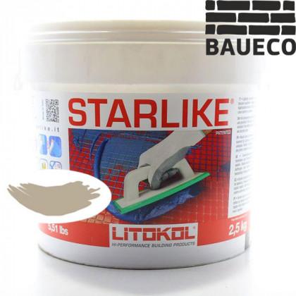 Эпоксидная затирка Litokol Starlike С.490 Tortora Серо - бежевый