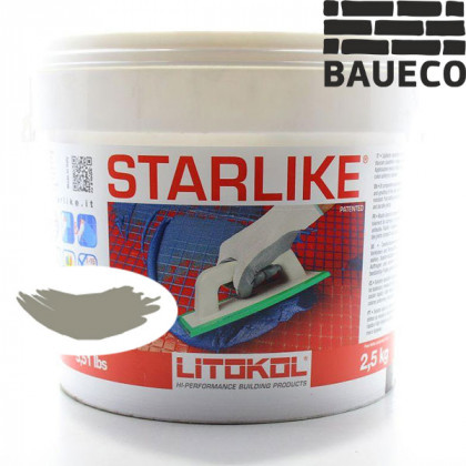 Эпоксидная затирка Litokol Starlike С.560 Grigio Portland - Серый цемент
