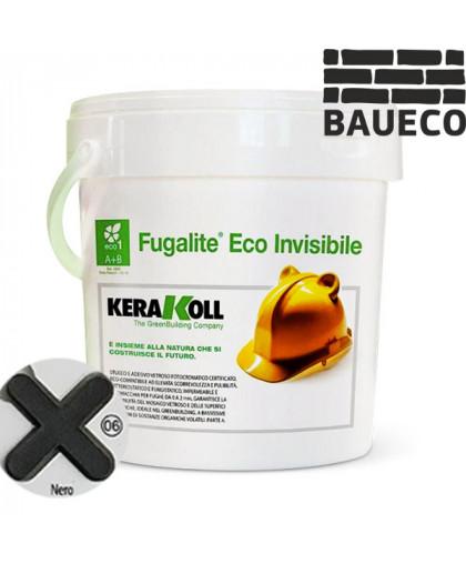 Эпоксидная затирка Fugalite eco Nero 06