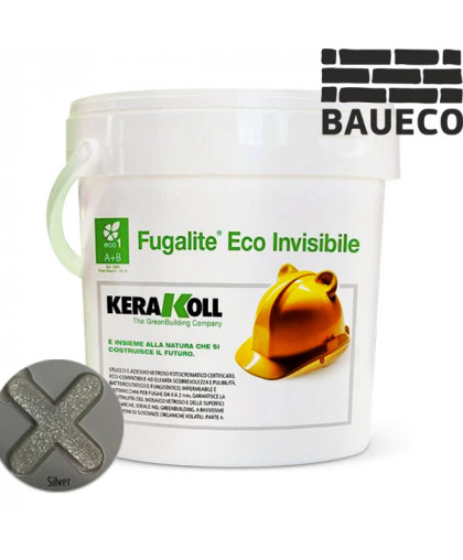 Эпоксидная затирка Fugalite eco Invisibile Silver