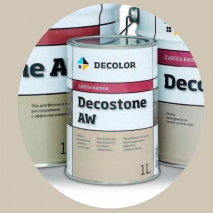 Лак для камня с мокрым эффектом Decostone AW