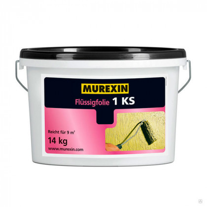 Эластичная гидроизоляция Murexin Flussigfolie 1 KS 7 кг