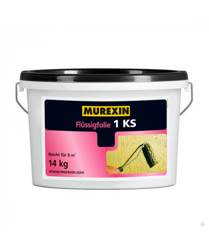 Эластичная гидроизоляция Murexin Flussigfolie 1 KS