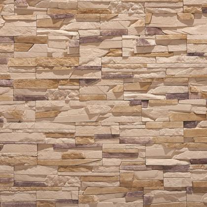 Декоративный камень Тонкий пласт 273 цв Коричневый