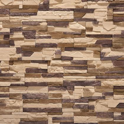 Декоративный камень Тонкий пласт 280 цв темно -коричневый