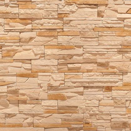 Декоративный камень Тонкий пласт 5 цв светло Коричневый