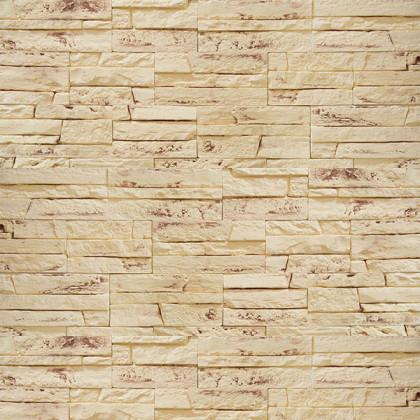 Декоративный гипсовый камень Боро 07 цв Бежевый
