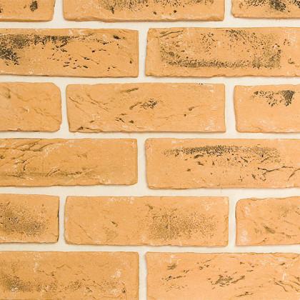 Гипсовая плитка - кирпич ручной формовки 417