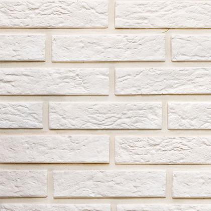 Гипсовая плитка Эко Кирпич 300 цв белый