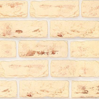 Гипсовый декоративный кирпич Саман 225 цв Песочный светлый