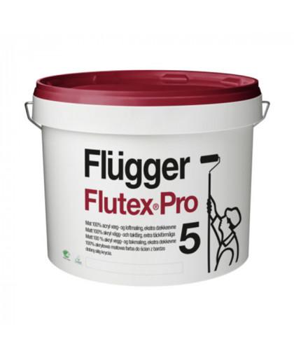Матовая улучшенная краска для стен Flugger Flutex Pro 5
