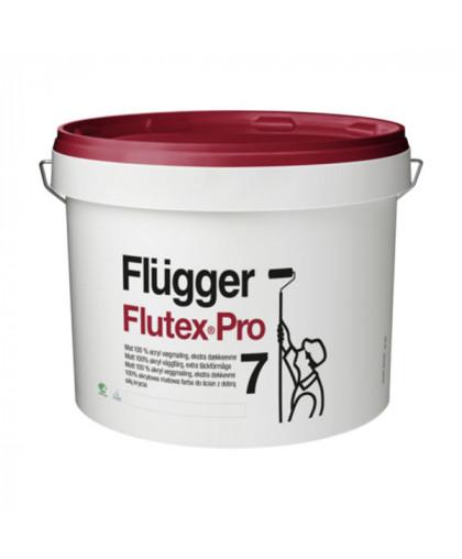 Матовая улучшенная краска для стен Flugger Flutex Pro 7