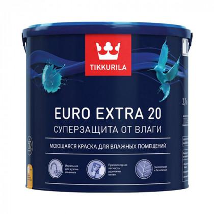 Краска для влажных помещений Tikkurila Euro Extra 20 (0,9 л)