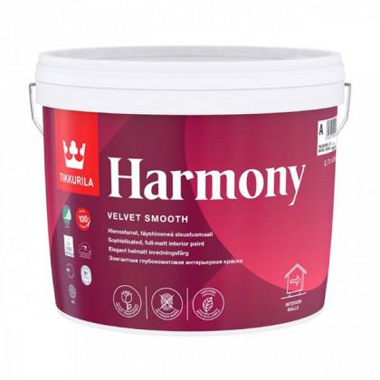Краска для стен Tikkurila Harmony совершенно матовая (0,9 л)