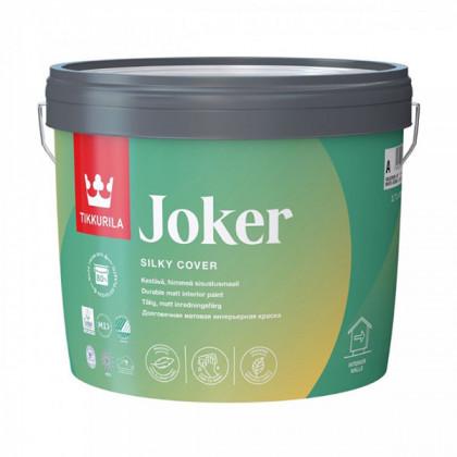 Стойкая к мытью экологичная краска Tikkurila Joker матовая (0,9 л)