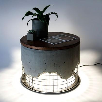 Светильник журнальный столик Arma coffee table