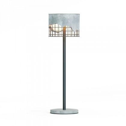 Торшер из бетона Arma Floor lamp