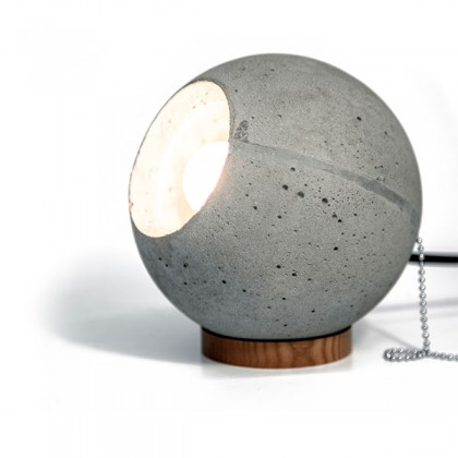 Светильник бетонный настольный  LOONA Table lamp