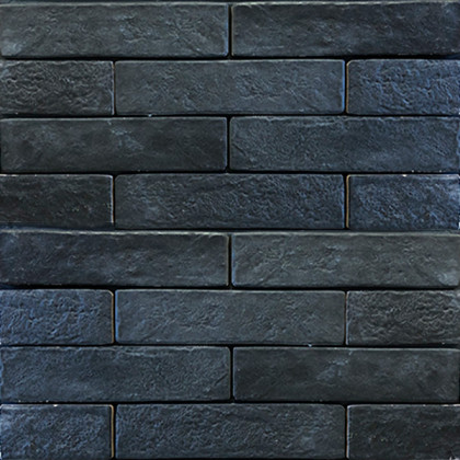 Керамогранит под кирпич Brickstyle the strand черный 08C020