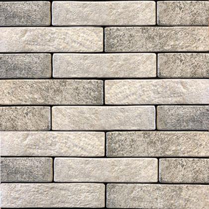 Керамогранит под кирпич Brickstyle seven tones серый 342020