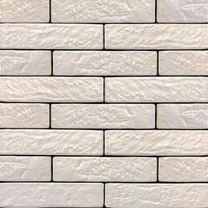Керамогранит под кирпич Brickstyle the strand белый 080020