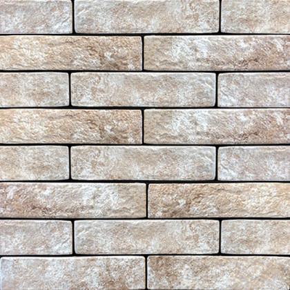 Керамогранит под кирпич Brickstyle oxford кремовый 15Г020