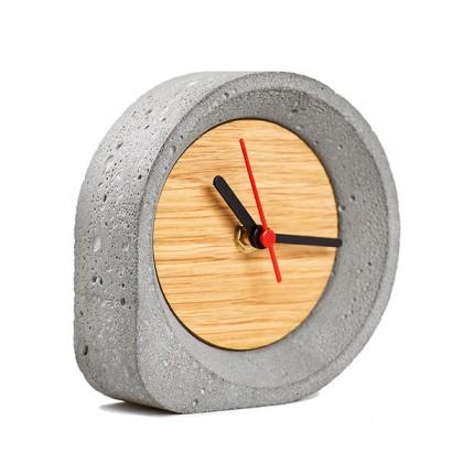 Аксессуар - часы настольные из бетона. Купить в интернет магазине | БауЭко