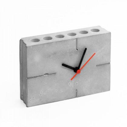 Аксессуар - часы органайзер из бетона. Купить в интернет магазине | БауЭко