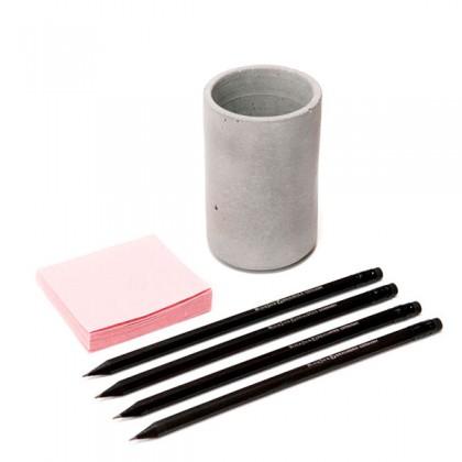 Аксессуар - стакан из бетона. Купить в интернет магазине | БауЭко