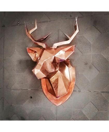 Декоративный элемент голова Оленя