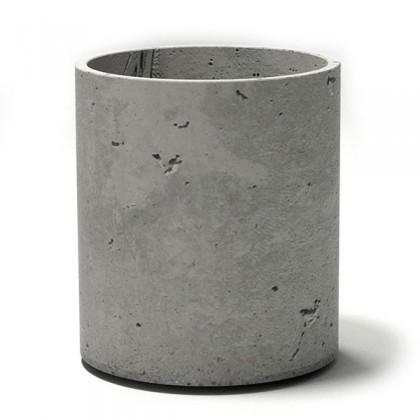 Вазон для цветов из бетона Cylinder 405
