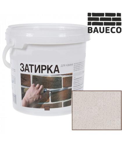 Затирка для камня и кирпича БауЭко цвет Белый (15 кг)