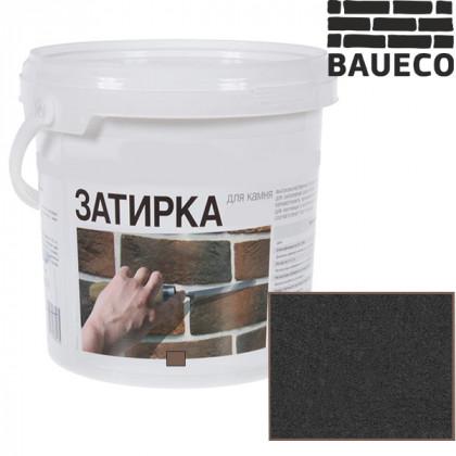 Затирка для камня и кирпича БауЭко цвет Антрацит (15 кг)
