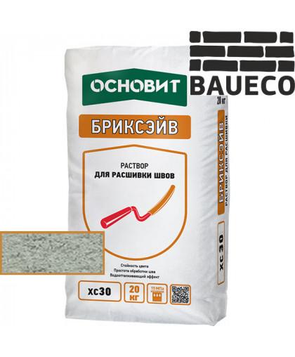 Бриксэйв XC 30 раствор для расшивки швов Светло - серый 021