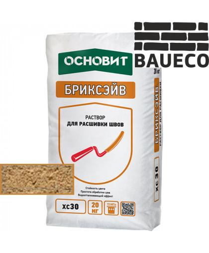Бриксэйв XC 30 раствор для расшивки швов Ореховый 036